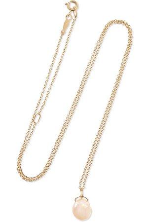 Catbird | Mermaid's Treasure Kette aus 14 Karat Gold mit Perle | NET-A-PORTER.COM