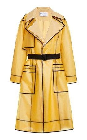 Belted Pvc Trench Coat By Proenza Schouler White Label | Moda Operandi