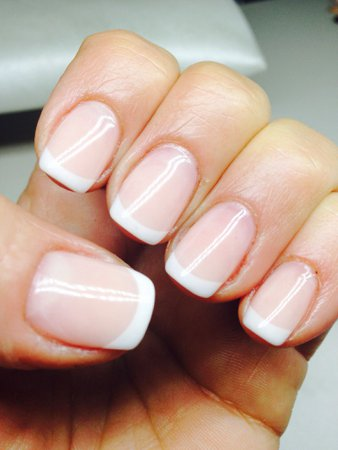 Natural Nails/ French Natural Nails
