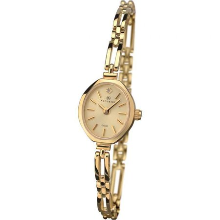 Ladies Accurist Gold Watch (8804) | WatchShop.com™