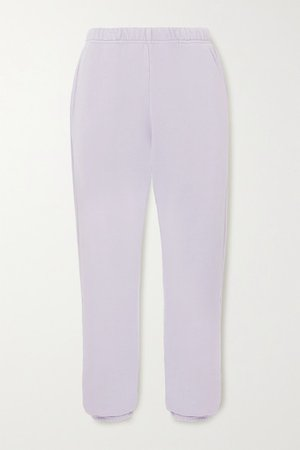 Les Tien | Cotton-jersey track pants | NET-A-PORTER.COM