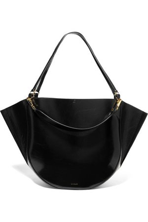 Wandler | Mia big patent-leather tote | NET-A-PORTER.COM