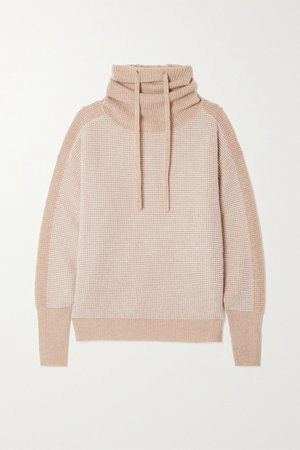 beige turtleneck sweater by Eres