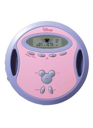 pink purple CD player png filler y2k