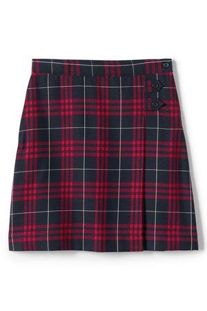 Plaided Mini Skirt