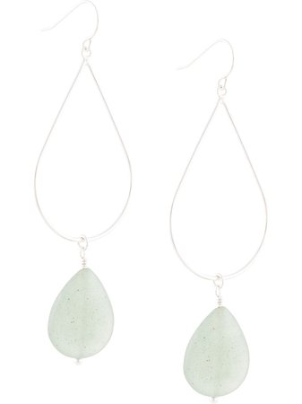 Petite Grand Jade Earrings | Farfetch.com