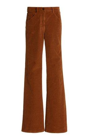 Celia Stretch-Cotton Corduroy Wide-Leg Jeans By Nili Lotan | Moda Operandi