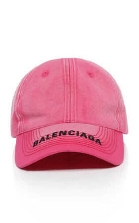 Embroidered Cotton-Twill Baseball Cap by Balenciaga | Moda Operandi