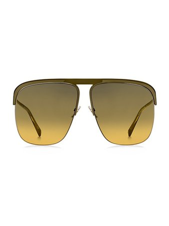 Givenchy 65MM Oversized Square Sunglasses | SaksFifthAvenue