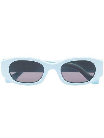 TOL Eyewear oblong sunglasses blue F1T5MINT - Farfetch