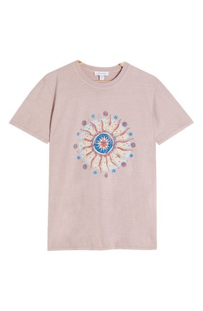 Topshop Earth Sun Graphic Tee | Nordstrom
