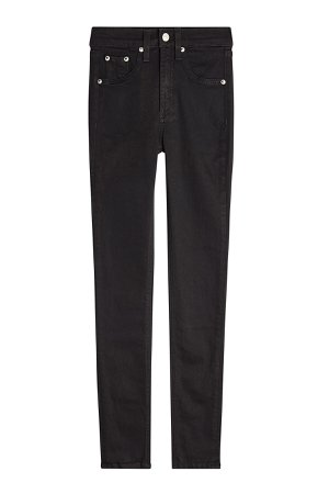 High Rise Ankle Skinny Jeans Gr. 25