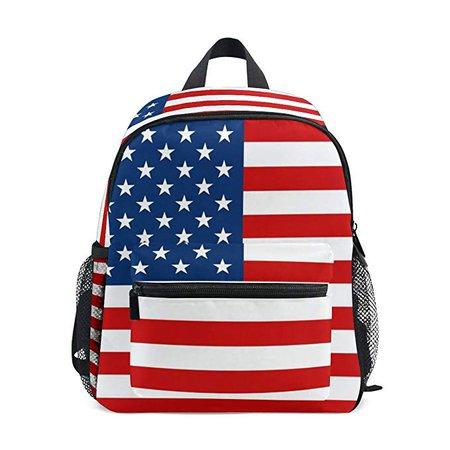 American flag patriotic backpack