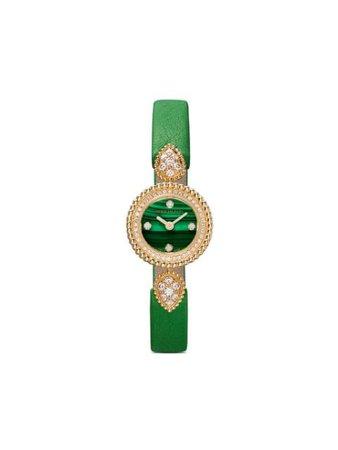 Boucheron 18kt Yellow Gold Serpent Bohème Diamond Watch