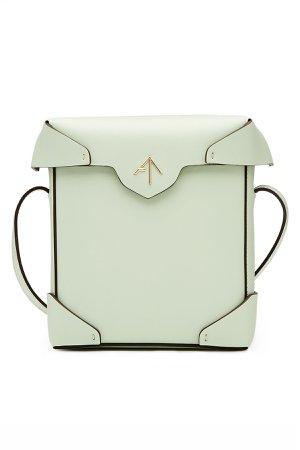 Mini Pristine Leather Shoulder Bag Gr. One Size