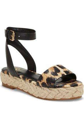 Vince Camuto Defina Ankle Strap Platform Sandal (Women) | Nordstrom