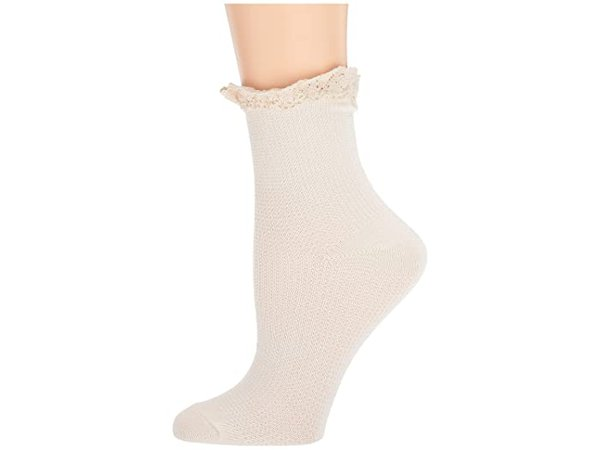 Free People Darling Waffle Knit Ankle | Zappos.com