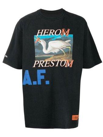 Heron Preston Logo Print T-shirt - Farfetch