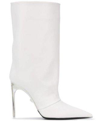 Versace Clear Heel Boots - Farfetch