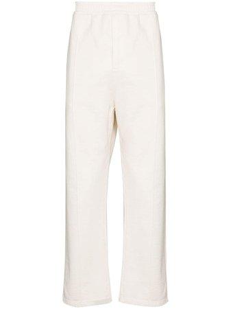 Prada elasticated-waist straight-leg trousers - FARFETCH