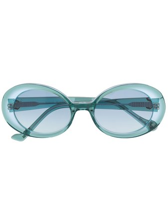 Vivienne Westwood Oval-Frame Tinted Sunglasses