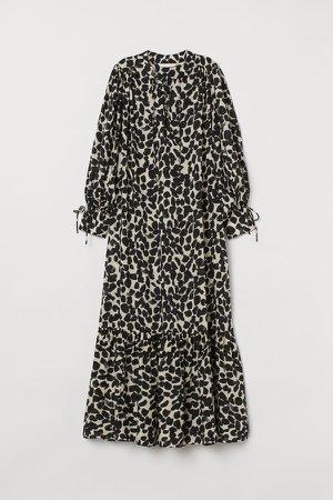 Lyocell Dress - Beige