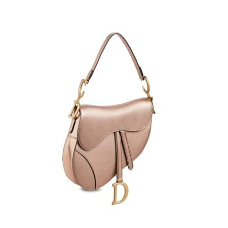 Dior Saddle Bag Rose Gold