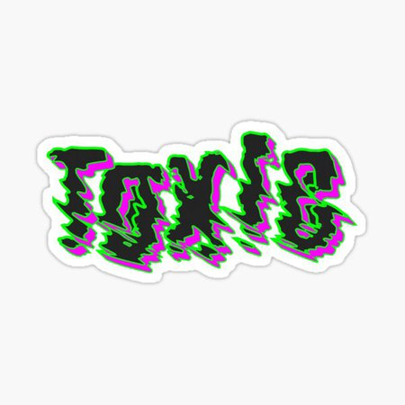 pink and green emo sticker - Google Search