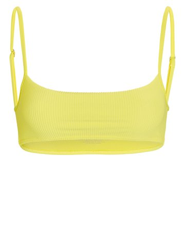 Frankies Bikinis Boots Ribbed Bikini Top   INTERMIX®