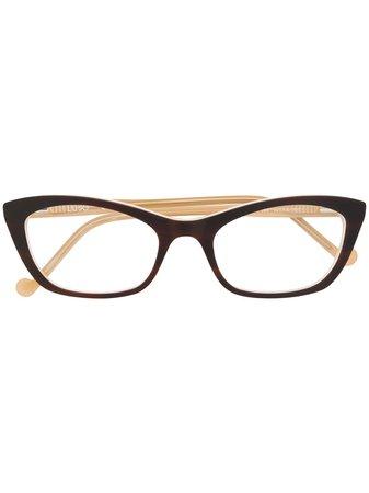 Liu Jo Cat Eye Two Tone Glasses Continuity | Farfetch.Com