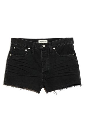 Madewell The Dadjean Denim Shorts (Lunar Wash)   Nordstrom