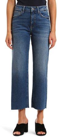 Romee High Waist Crop Wide Leg Jeans