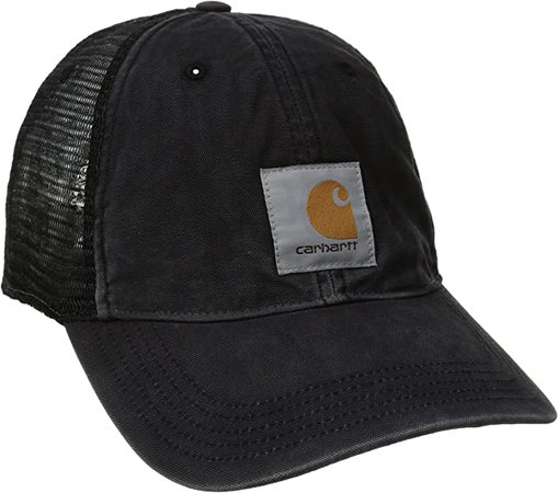 Amazon.com: Carhartt Men's Buffalo Cap,Black,One Size: Clothing