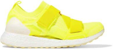 Ultraboost X Neon Primeknit Sneakers - Yellow