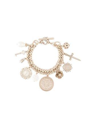 Marchesa Notte Charm chain-link Bracelet - Farfetch