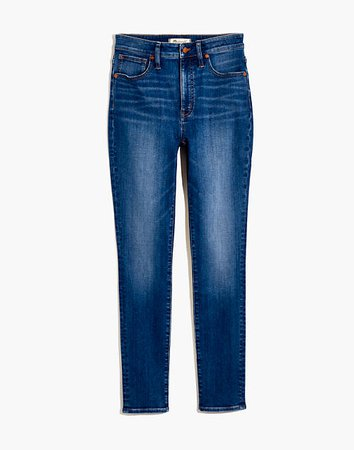 Curvy High-Rise Skinny Jeans in Bradshaw Wash