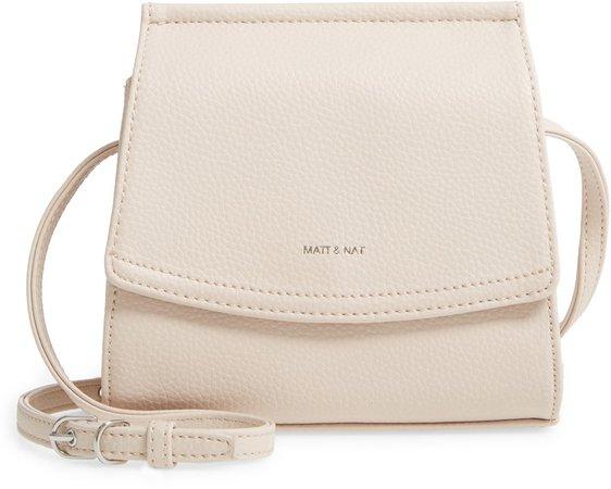 Erika Vegan Leather Crossbody Bag