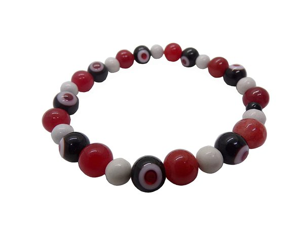 red black and white bracelet - Google Search