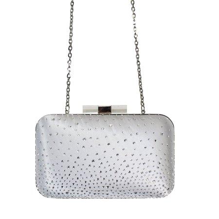 Scheilan Sparkle Silver Clutch   Muse Boutique Outlet – Muse Outlet