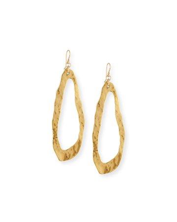 Jean Mahie 22k Yellow Gold Hammered Cuff Bracelet | Neiman Marcus