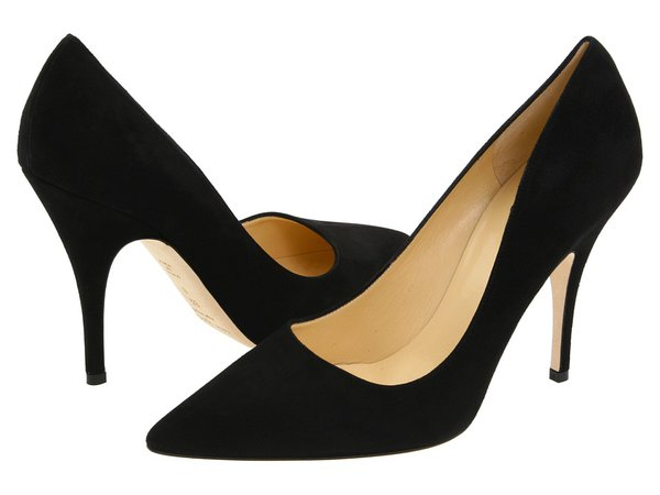 Kate Spade New York - Licorice (Black Suede) High Heels