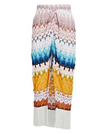 Missoni Mare Knit Chevron Sarong Skirt   INTERMIX®