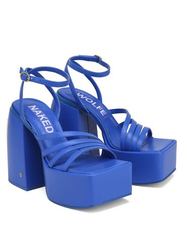 *clipped by @luci-her* Naked Wolfe Jada Cobalt Blue Leather