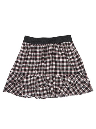 Eleven Paris Checked Skirt