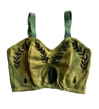 serpent and bow crop top