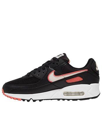Nike Air Max 90 sneakers in black | ASOS