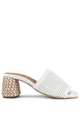 Kaanas Sumatra Sandal in White | REVOLVE