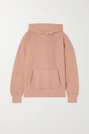 Les Tien - Cotton-jersey Hoodie - Pink