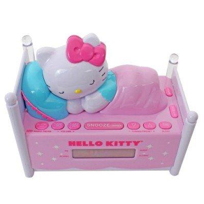 sweetheart: lollipopfields: 💙💛 Hello Kitty radio alarm clock...