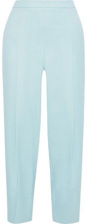 Nagihan Cropped Twill Tapered Pants
